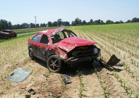 Fulton Fire Department stays busy with car accident and