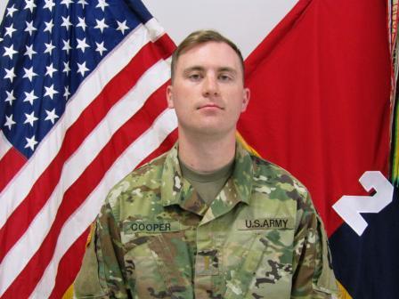 Fort Campbell Soldier 1st Lt. Jeffrey D. Cooper