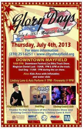 Mayfield Glory Days 2013