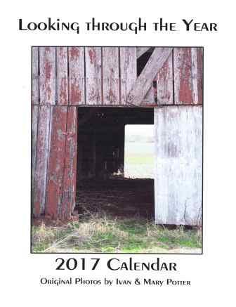 2017 Potter Calendar