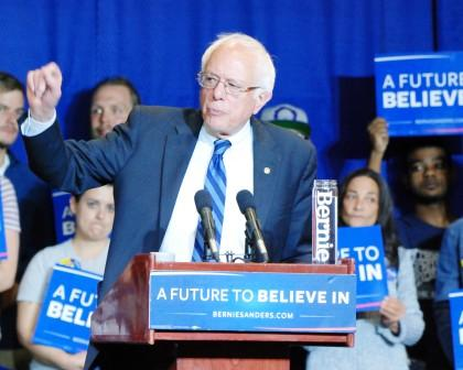 I'm for Bernie Sanders and closed primaries