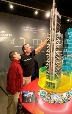 Towers of Tomorrow on display at Discovery Park of America