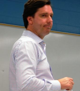 Adam Edelen at Murray State - Pizza, Politics and Progressives