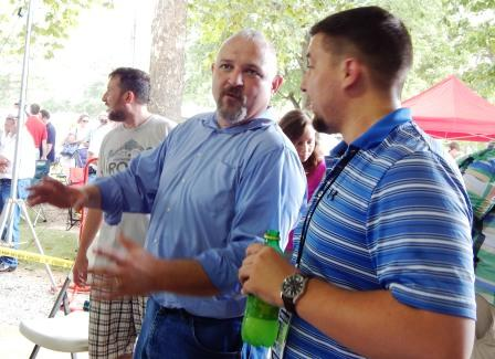 Fancy Farm 2016: Sam Gaskins, longshot candidate for 1st District, undaunted
