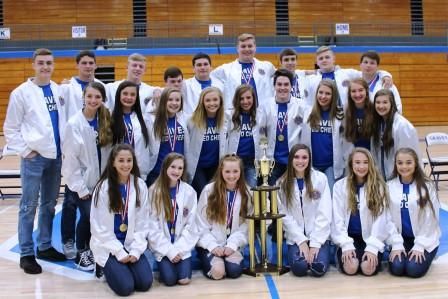 Graves High 2018 co-ed competition cheerleaders win seventh Universal Cheerleaders Association national title | Graves County Schools,