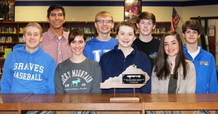 Graves High Academic Team wins 2017 Governor's Cup District Championship; next, Graves hosts regionals Feb. 18