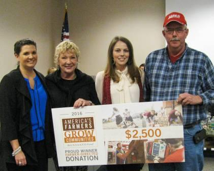 Graves County farmer Ricky Wilson directs Monsanto Fund donation to Family Resource and Youth Services Centers