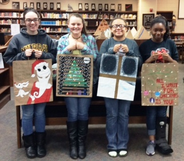 Hickman County students compete in brown bag art contest