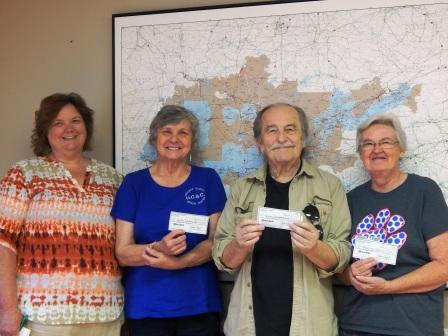 The generosity of Gibson Electric customers funds local charities