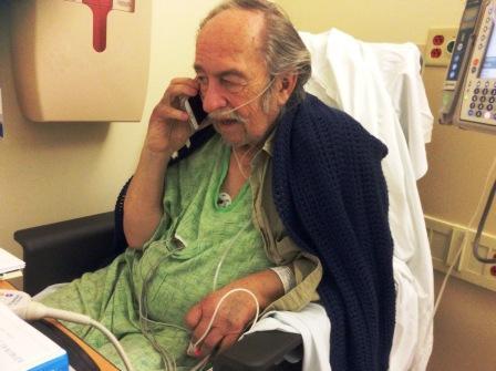 Medical emergency brings health debate close to home