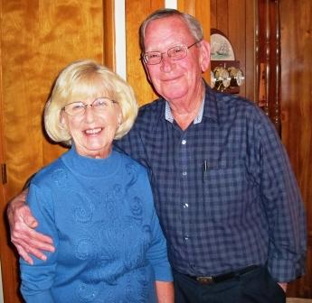 Betty and Jeff Morrow - photo supplied by Betty