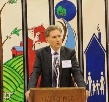Dr. Randy Dunn, MSU President