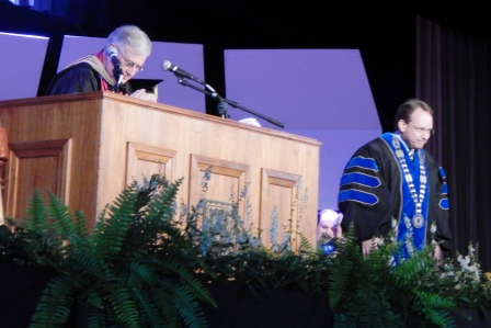 Achievement, Endeavor, and Hope - MSU President invested