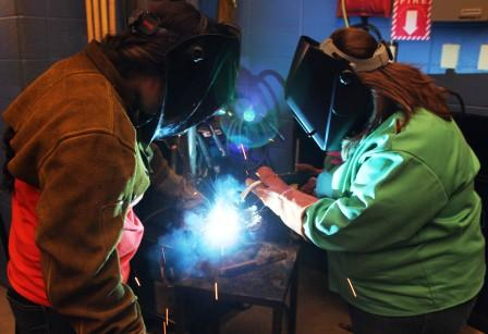 Mayfield-Graves County Area Technology Center celebrates 'Girls in Engineering Day' with variety of students, projects