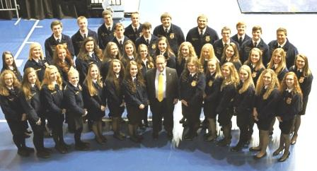 Murray State University Hutson School of Agriculture recognizes area FFA students for outstanding accomplishments