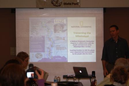 NatGeo team promotes Mississippi River tourism