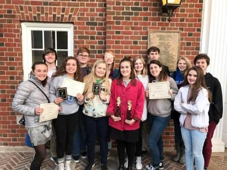 PTHS speech team competes at state