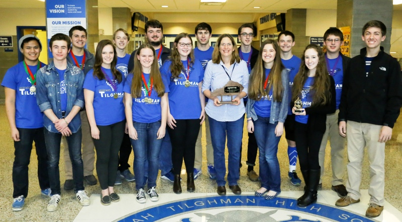 PTHS Academic Team runner up in 2016 competition
