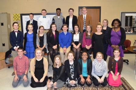 PTMS speech team second in regionals