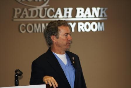Senator Paul holds town hall meeting in Paducah | Rand Paul, Paducah, Gaseous Diffusion Plant, nuclear clean up, Kentucky, Washington, Donald Trump