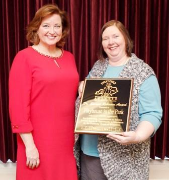 Playhouse in the Park shares award