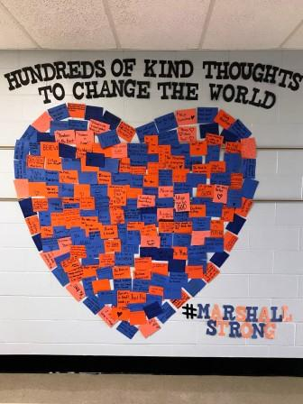 Graves County students send kind thoughts in wake of shooting