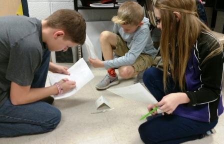 Wingo students use math in crime scene investigations