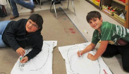 Wingo students participate in pillowcase project