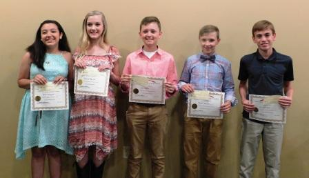 Young Historians 2017: Studying history in 7th grade earns rewards and cupcakes | history, Young Historians, Hickman County Historical Society, Hickman County Arts Council, student competition, education,