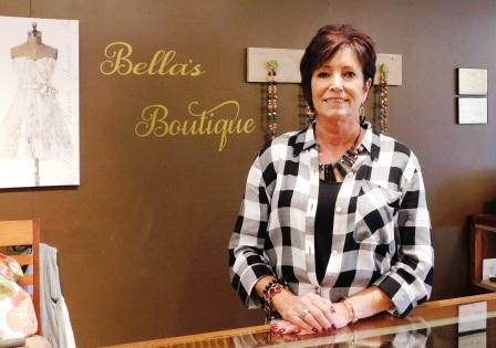 Angie Stroud is the proud owner of Bella's Boutique.