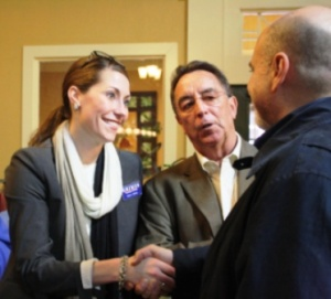 Alison Lundergan Grimes campaigns in Purchase