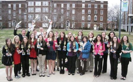 Hickman County High students bring home wins from FBLA | Falcon Academy, FBLA, Clinton, Hickman County