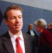 Rand Paul - Confident, Aggressive at Candidate Forum