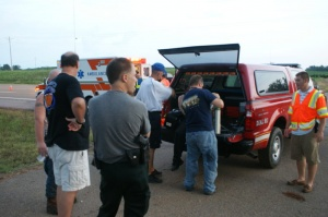 Missing man found by emergency crews