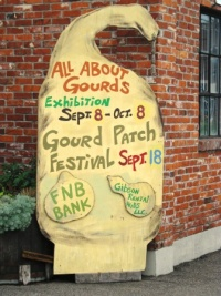 Mayfield goes ga-ga over gourds