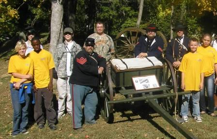 NJROTC attend Civil War Days