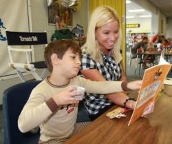 Bananas for Books brings readers to Clark Elementary