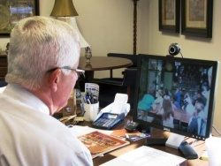 Skyping in school - a learning tool in Graves County