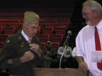 Hickman County High honors veterans - a photo essay