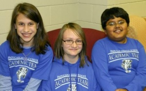 Paducah Middle Students participate in WKCTC Science Fair