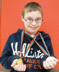 Graves Middle School student strikes gold at Special Olympics Kentucky Bowling Competition