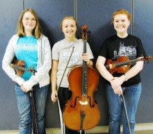 Seven Graves High musicians selected for 2011 All-State Orchestra