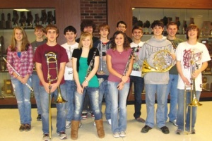 Graves High well-represented at MSU's Quad-State Band Festival