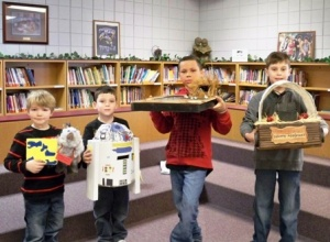 Hickman Co. Elementary Students celebrate I Love to Read Week