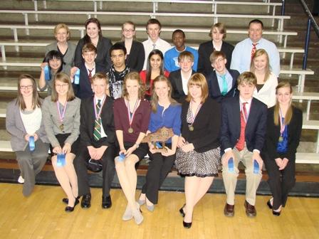 PTHS Speech Team Places 2nd in Regionals