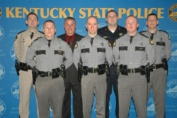 Mayfield KSP Officer among those honored