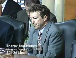 Senator Paul Channels Ayn Rand in Energy Committee Address