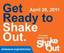 Survive the Shake, Rattle and Roll of New Madrid Quake by participating in preparedness drills