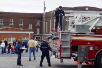 Fulton Fire Department participates in Spring Fling