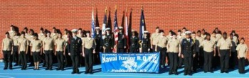PTHS NJROTC named Distinguished Unit